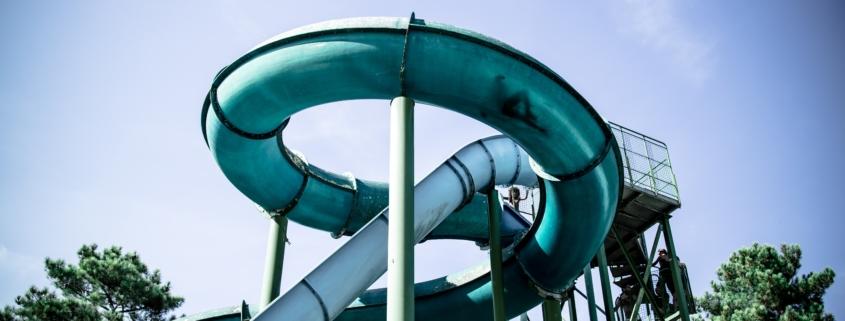 Water slide photo.